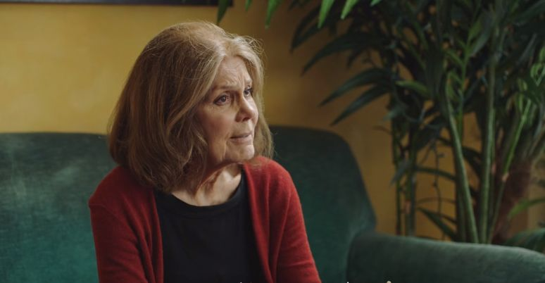 "Gloria Steinem in the first episode of Everlane's ""Human Heroes"" series."