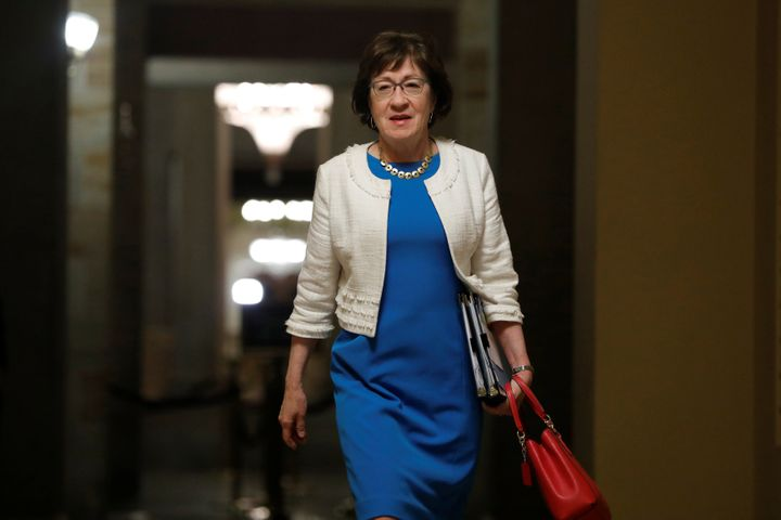 Sen. Susan Collins (R-Maine) has shown a willingness to buck President Donald Trump in the past.