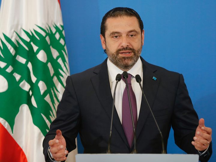 """The pro-Hezbollah al-Akhbar newspaper declared the election a """"slap"""" forPrime Minister Hariri on its front"""