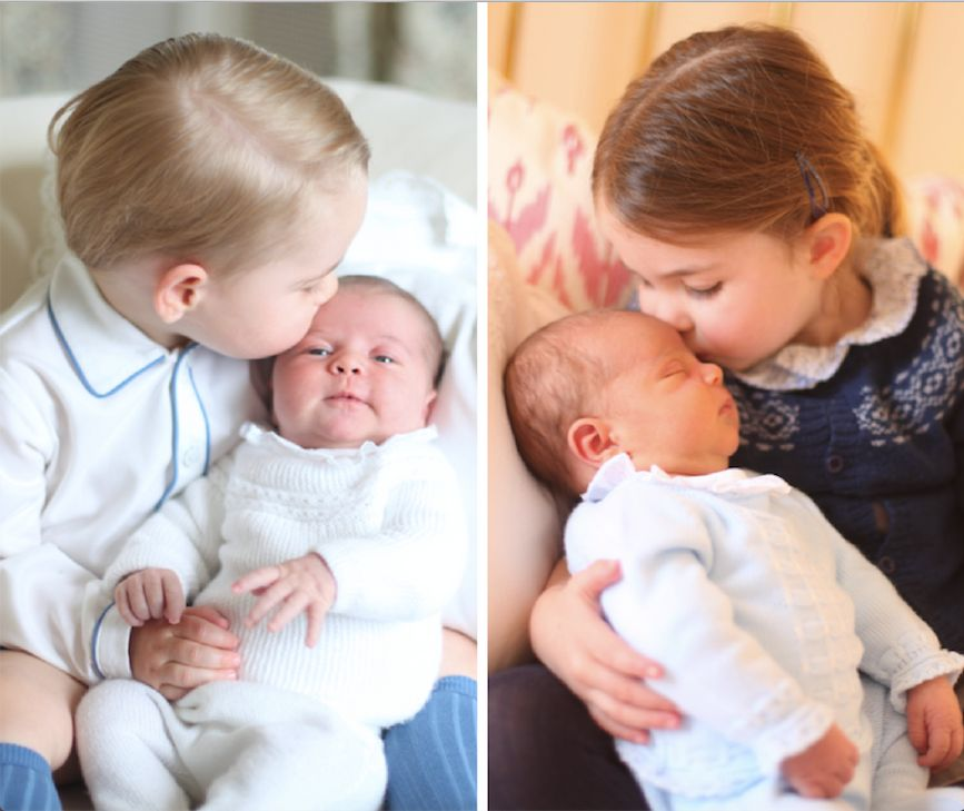 Devoted big sister Princess Charlotte 'won't leave Prince Louis' side'