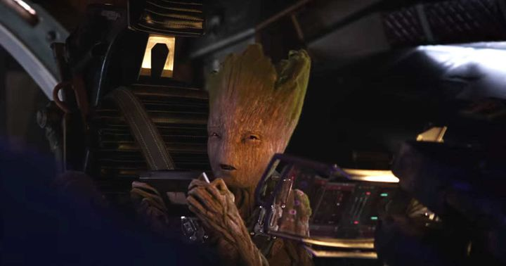 groot s last line in infinity war has been revealed and it will
