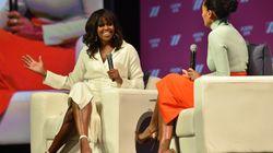 """Michelle Obama aimerait """"que les filles puissent échouer autant que les hommes"""""""