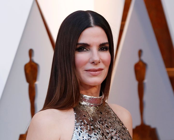 Sandra Bullock at the 90th Academy Awards earlier this year.