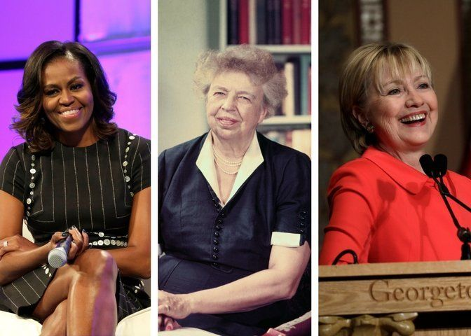These first ladies used their status to make change