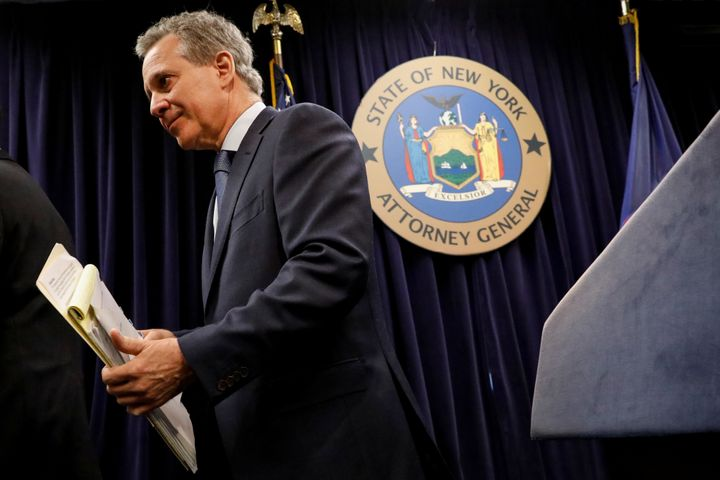 Four women accused Eric Schneiderman of physically abusing them in their relationships with him.