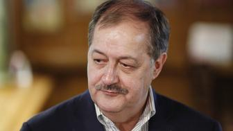 Former Massey Energy CEO Don Blankenship, Republican U.S. Senate candidate from West Virginia, listens during a campaign event in Bluefield, West Virginia, U.S., on Thursday, May 3, 2018. Donald Trump Jr. tweeted that West Virginia voters should reject former Blankenship in the GOP primary election next week as he is more beatable in a race against Democrat Joe Manchin in the general election. Photographer: Luke Sharrett/Bloomberg via Getty Images