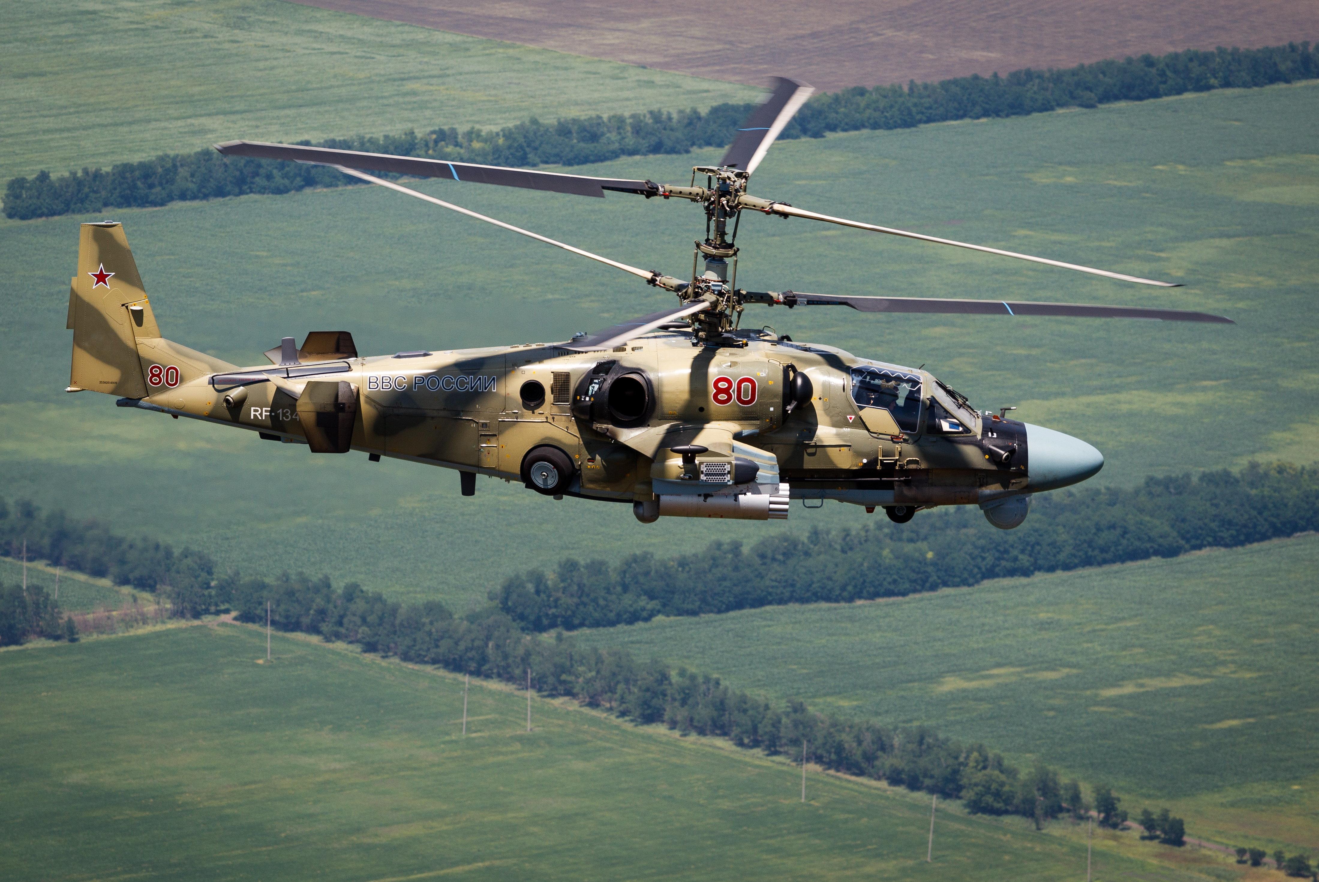 Συντριβή ρωσικού στρατιωτιού ελικοπτέρου Ka-52 στην ανατολική Συρία. Νεκροί οι δύο