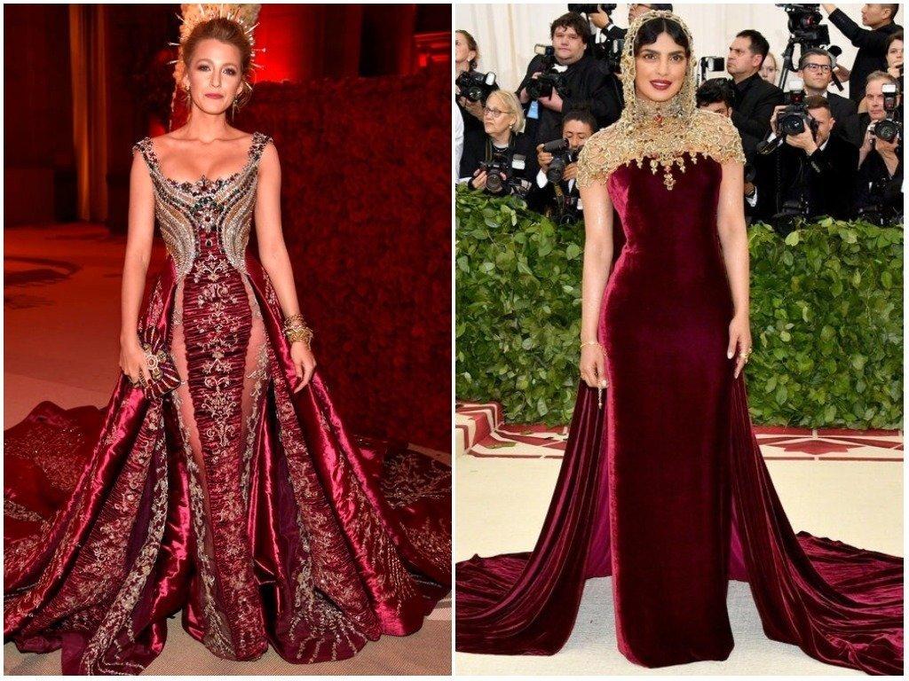 Blake Lively And Priyanka Chopra Led The Best Dressed At The Met
