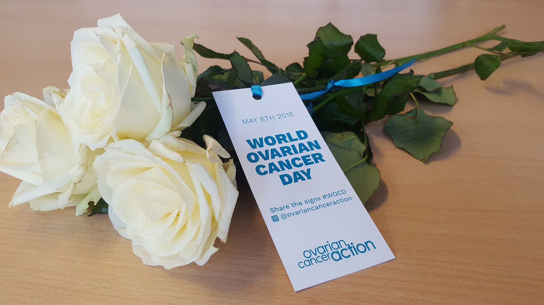 Why I Am Handing Out Roses This World Ovarian Cancer Day Huffpost Uk Life