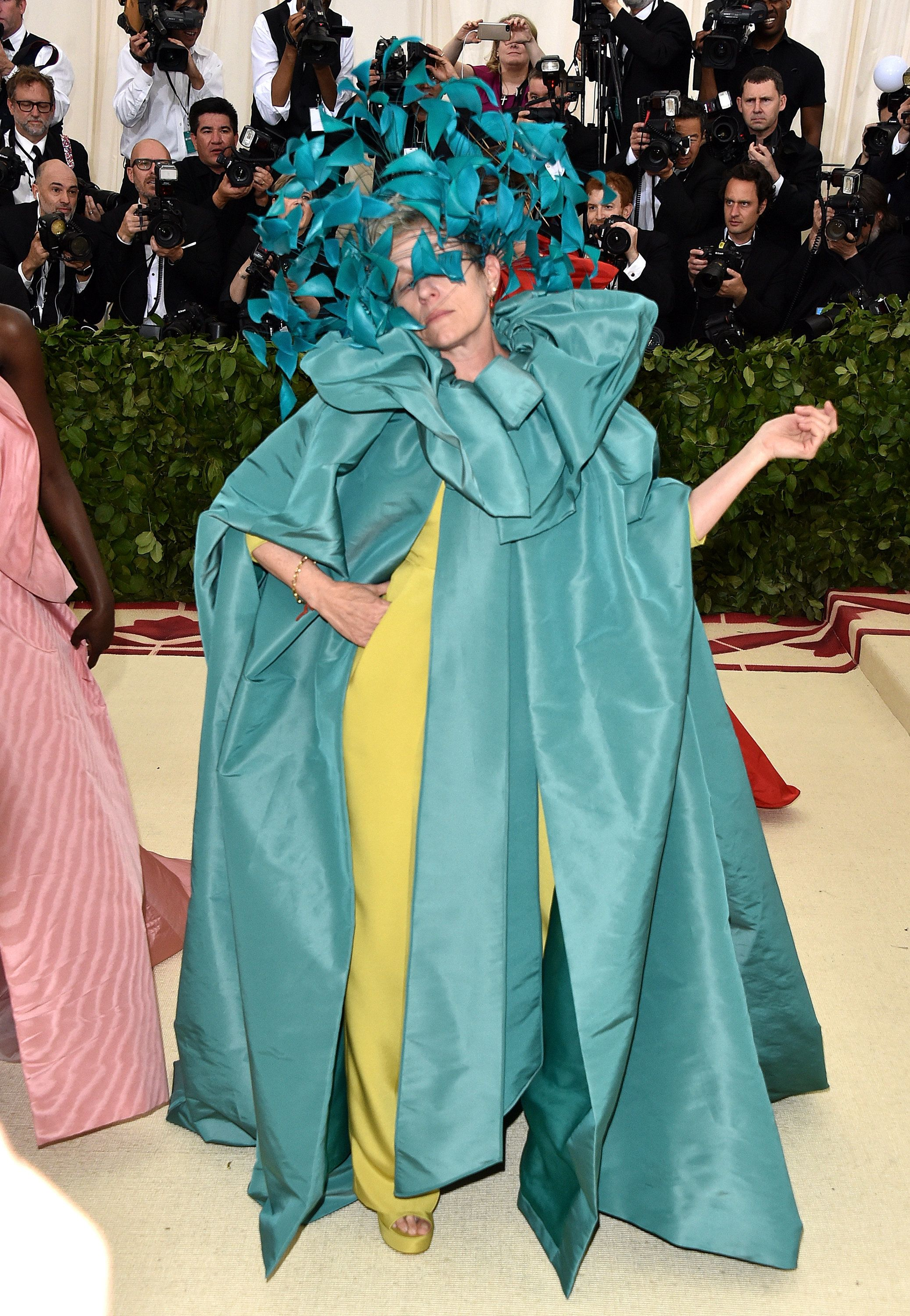 Frances McDormand Had The Absolute Time Of Her Life At The Met