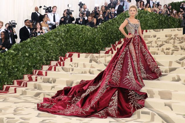 Blake Lively attends the Met