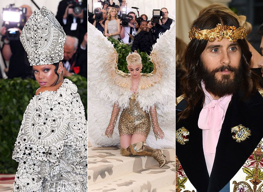 This Year's 'Heavenly Bodies'-Themed Met Gala Obviously Inspired Plenty Of Funny Tweets