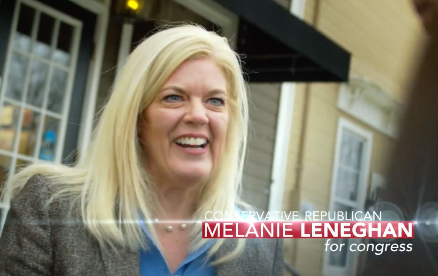 Businesswoman Melanie Leneghan had the backing of influential House conservatives in the GOP race.