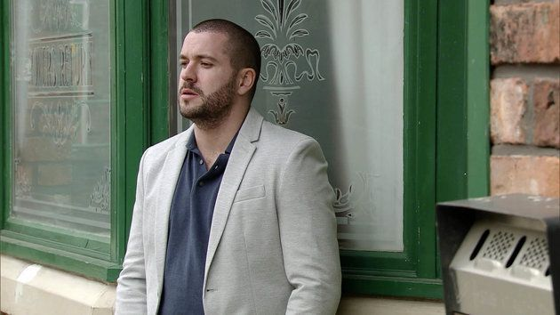 Aidan Connor was at the centre of a suicide storyline on Coronation