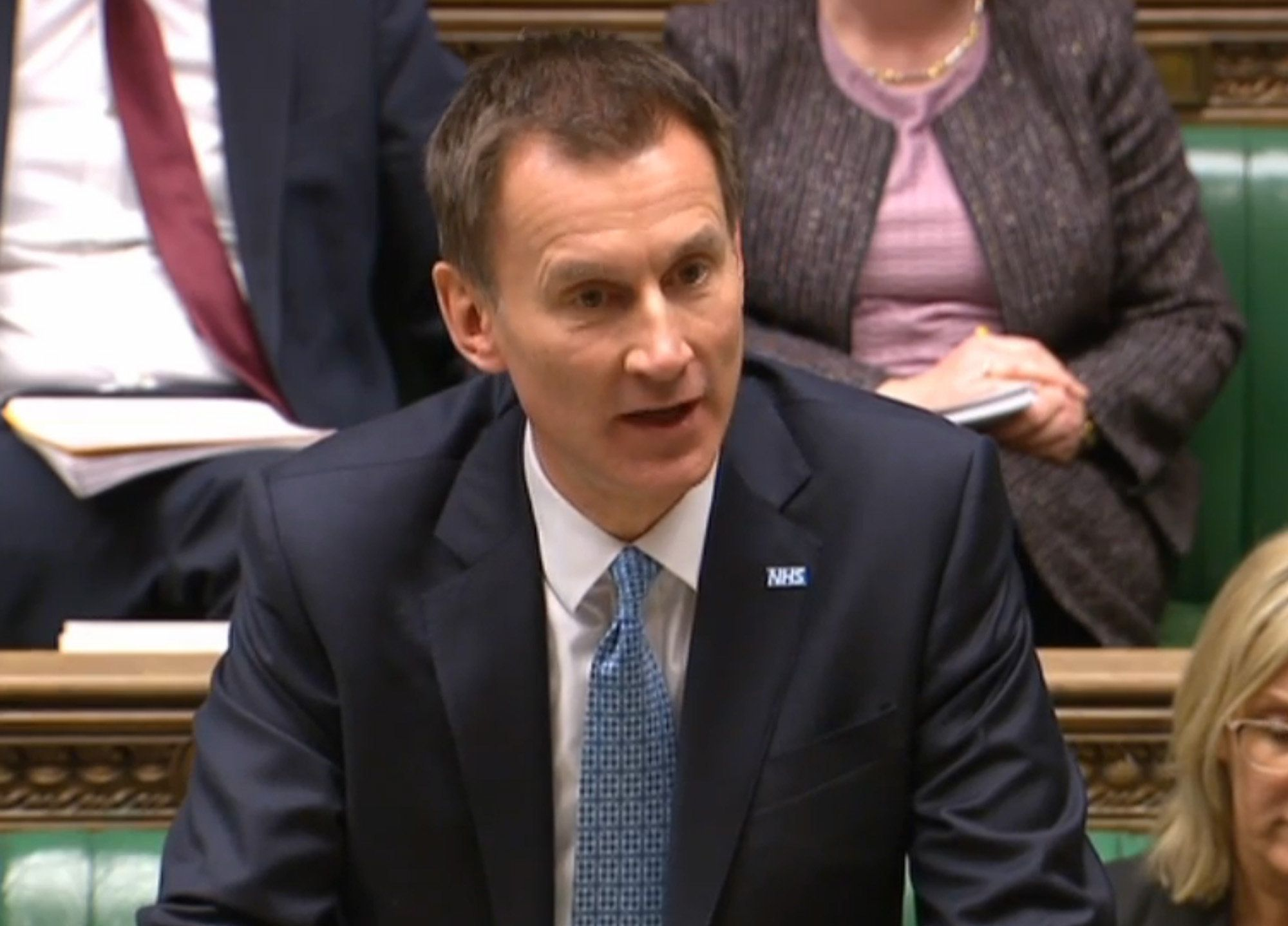 Jeremy Hunt Defends Non-Medical Staff Running Breast Cancer Screening Failure