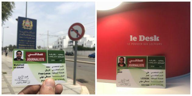 Les directeurs de Yabiladi et Le Desk obtiennent (enfin) leurs cartes de presse