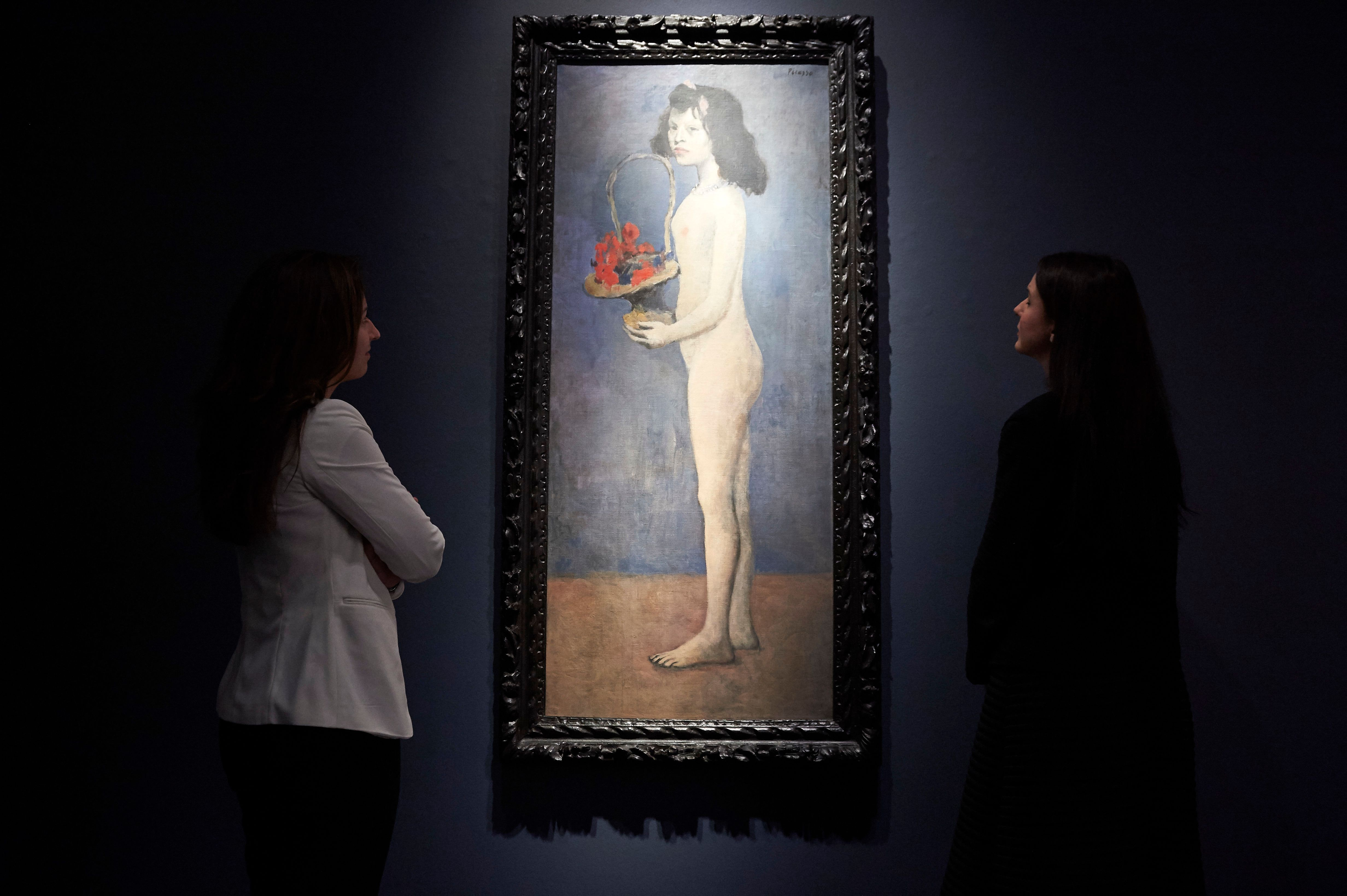 Picasso's Nude Portrait Of A Pubescent Girl Heads To Auction Against Backdrop Of Me