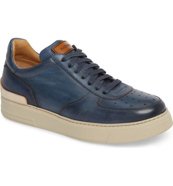 """Get it at <a href=""""https://shop.nordstrom.com/s/magnanni-vada-lo-lace-up-sneaker-men/4794059?origin=category-personalizedsort"""