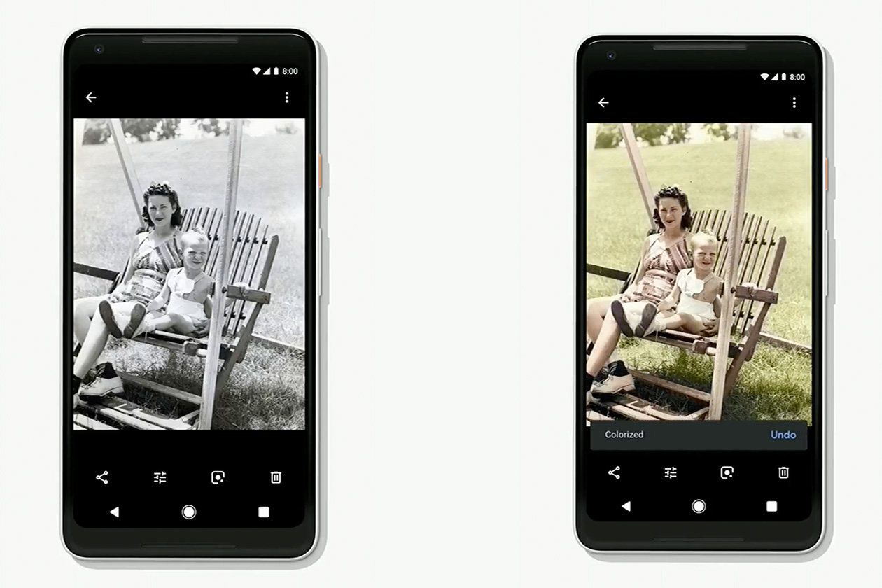 Google Can Actually Add Colour To Your Black And White