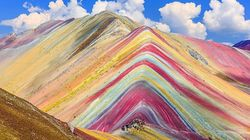 These Rainbow Mountains In Peru Look Like They're Straight Out Of A Dr. Seuss