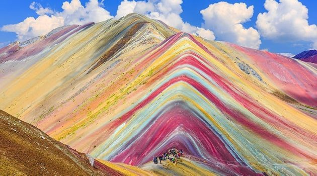These Rainbow Mountains In Peru Look Like They're Straight Out Of A Dr Seuss