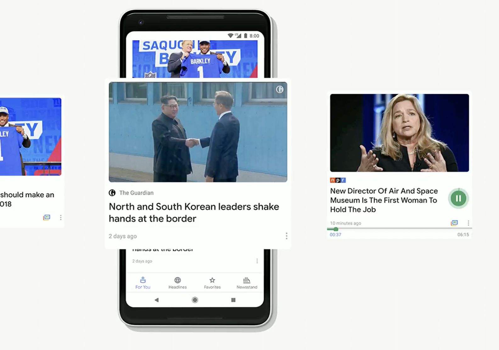 Google's News App Is All About Building Trust In A World Of Fake