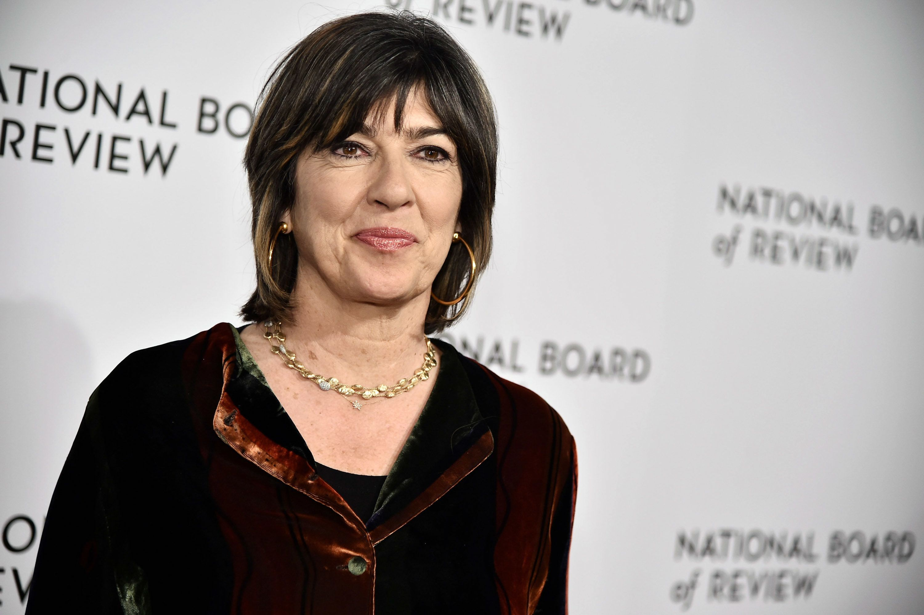 NEW YORK, NY - JANUARY 09:  Christiane Amanpour attends the 2018 The National Board Of Review Annual Awards Gala at Cipriani 42nd Street on January 9, 2018 in New York City.  (Photo by Steven Ferdman/Patrick McMullan via Getty Images)