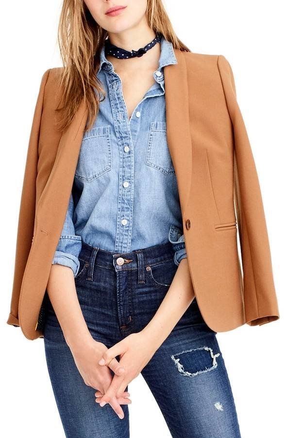 "<strong>Sizes</strong>: 00 to 20<br>Get it <a href=""https://shop.nordstrom.com/s/j-crew-parke-blazer-regular-petite/4738512?o"