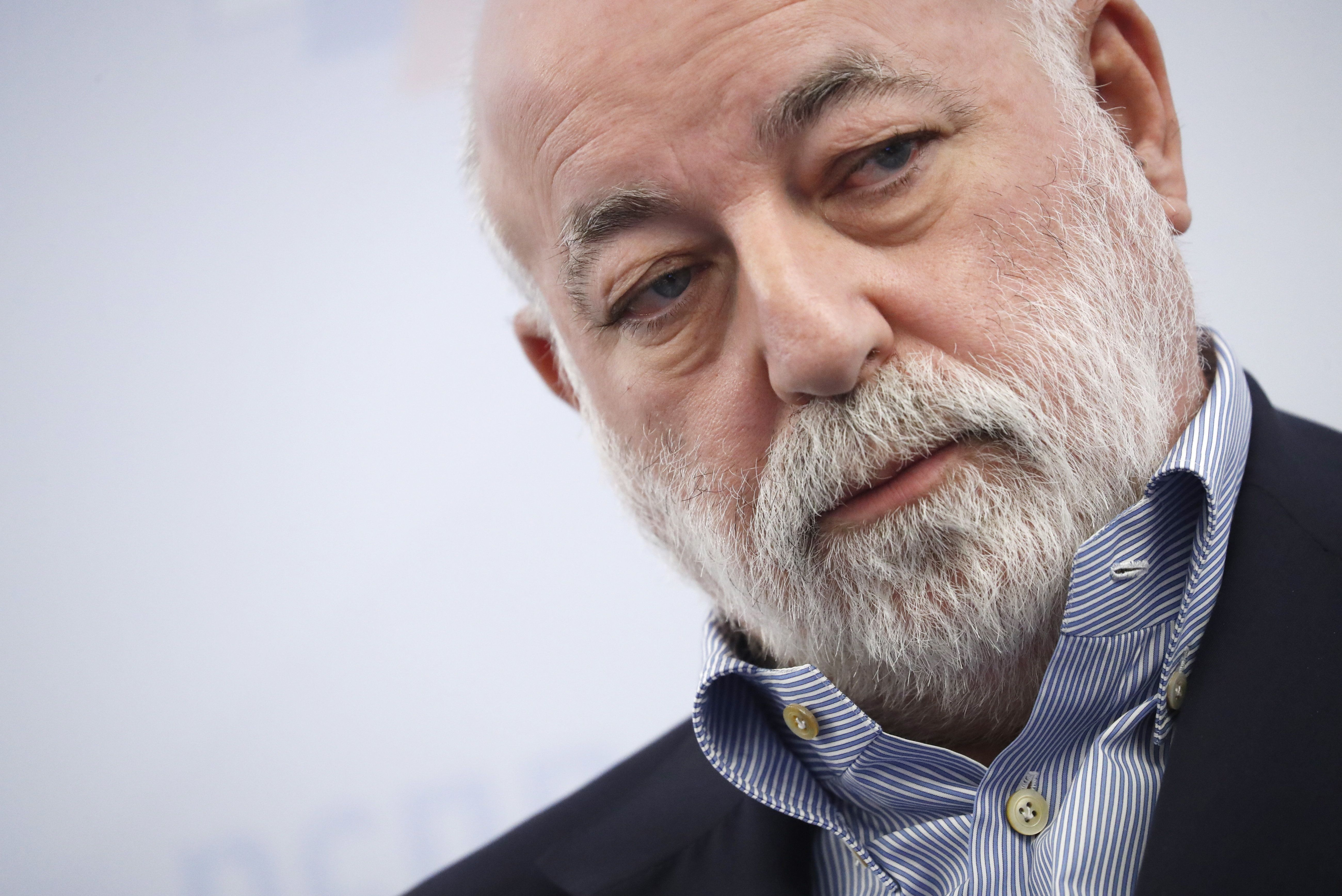 MOSCOW, RUSSIA - FEBRUARY 7, 2018: Renova Group Board Chairman and Skolkovo Foundation President Viktor Vekselberg attends the International Economic Cooperation in New Realities Forum as part of the 2018 Russian Business Week. Artyom Geodakyan/TASS (Photo by Artyom Geodakyan\TASS via Getty Images)
