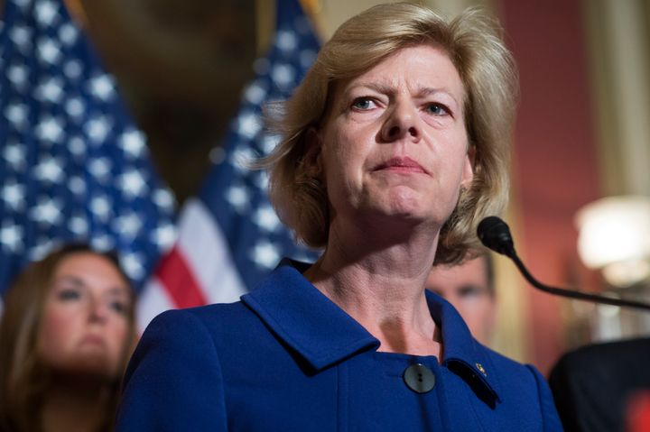 Sen. Tammy Baldwin says Republicans need to quit bending the Senate rules to confirm judges because it could come back to hau