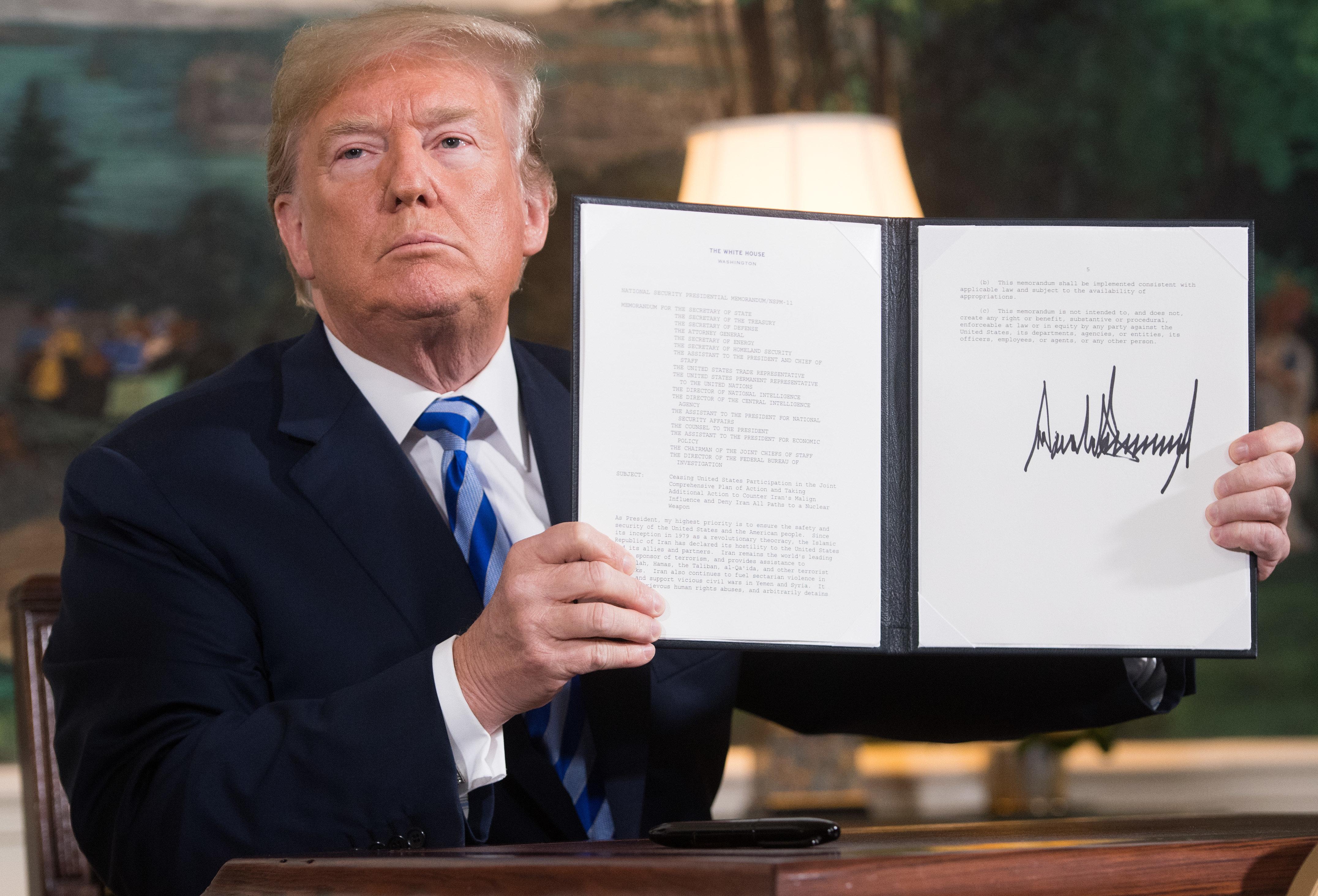 Trumps Iran-Entscheidung bedeutet einen neuen Krieg im Nahen Osten –und der hat schon