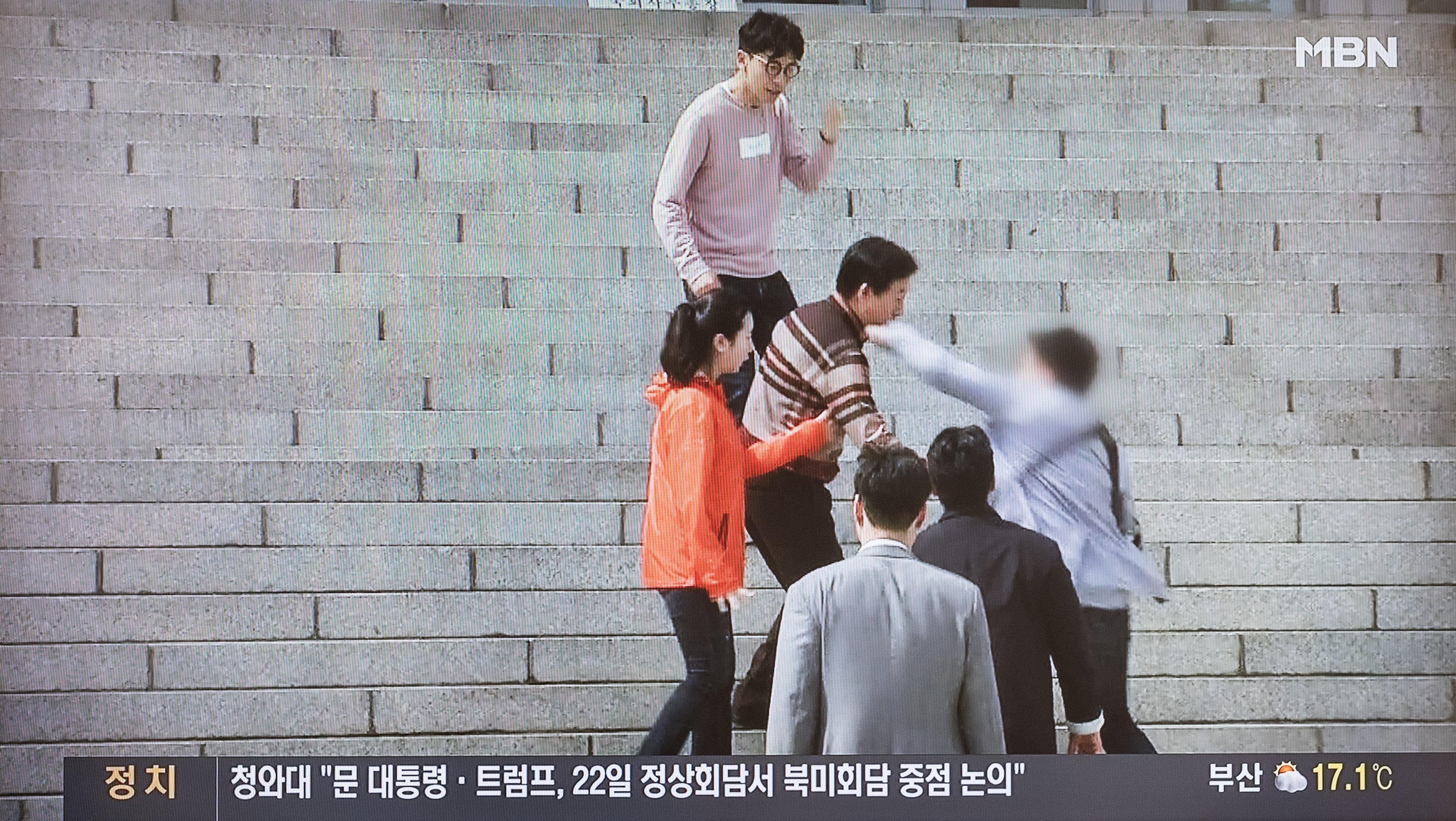 '김성태 폭행범'이 경찰 조사를 받으며 인터넷에 남긴 댓글들
