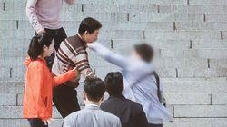 '김성태 폭행범'이 경찰 조사를 받으며 인터넷에 남긴