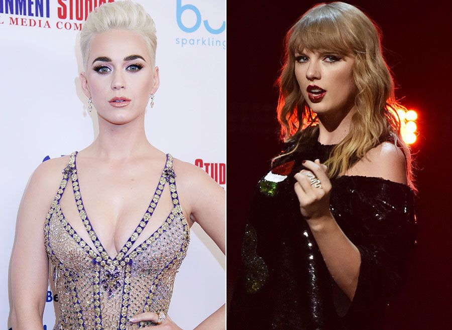 Pop's Most Exhausting Feud Is Finally Over As Katy Perry Sends Taylor Swift An Olive