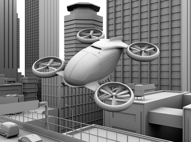Στόχος της Uber ένα ιπτάμενο ταξί από το 2020, σε συνεργασία και με τη