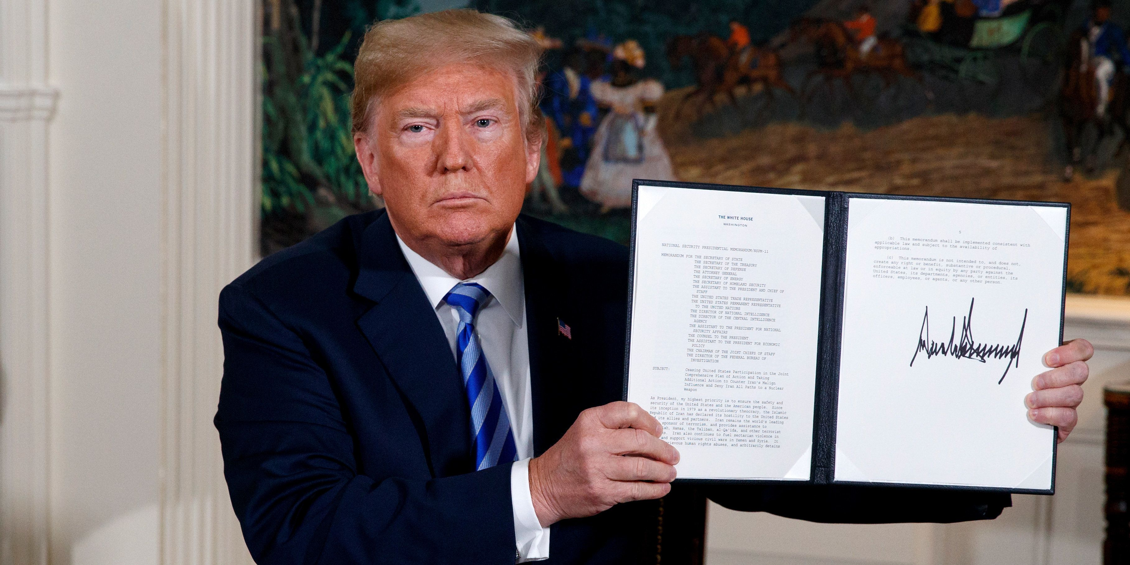 Trumps Iran-Entscheidung: Internationale Medien warnen vor