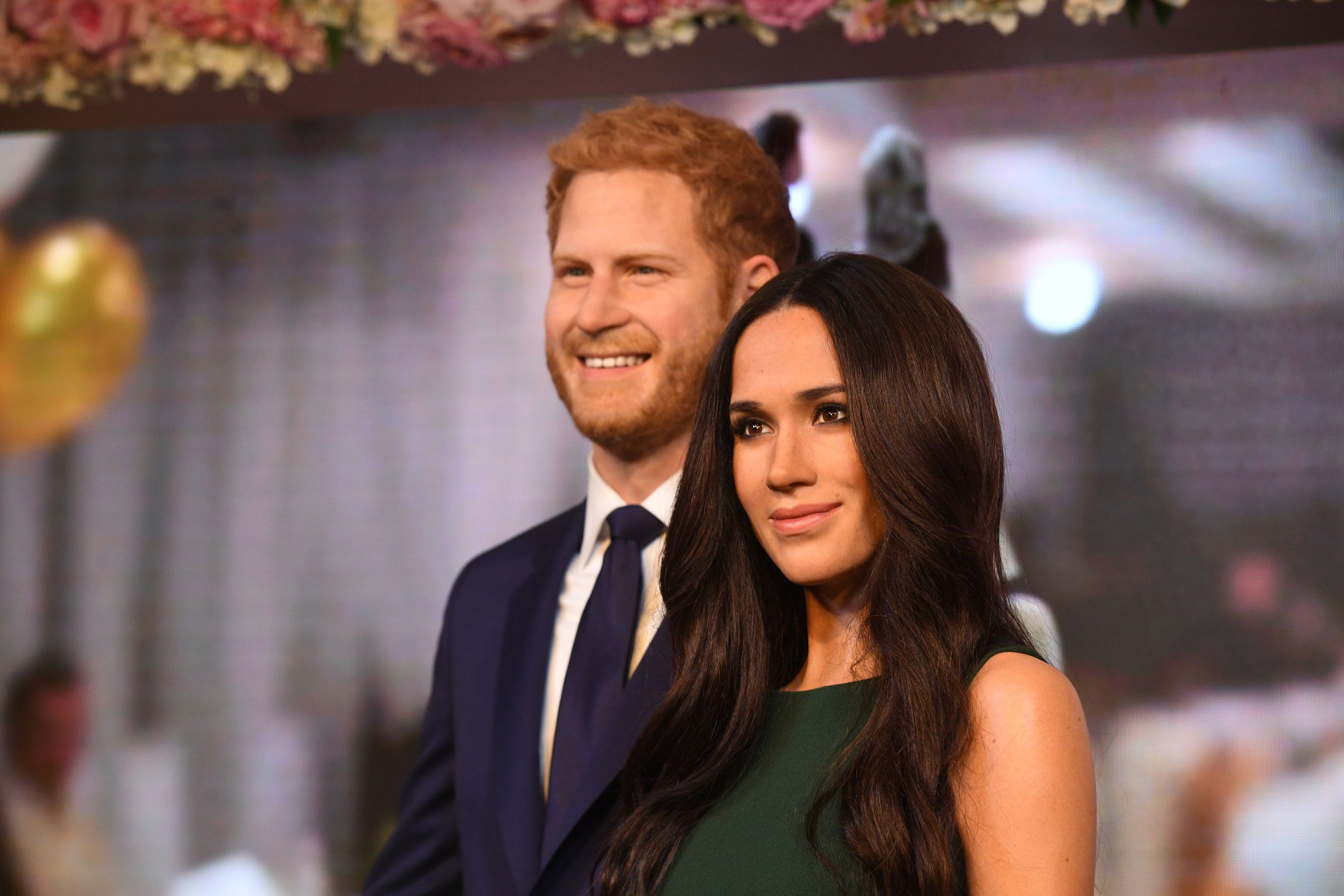 Spotted: Meghan Markle and Prince Harry at a Wax Museum""