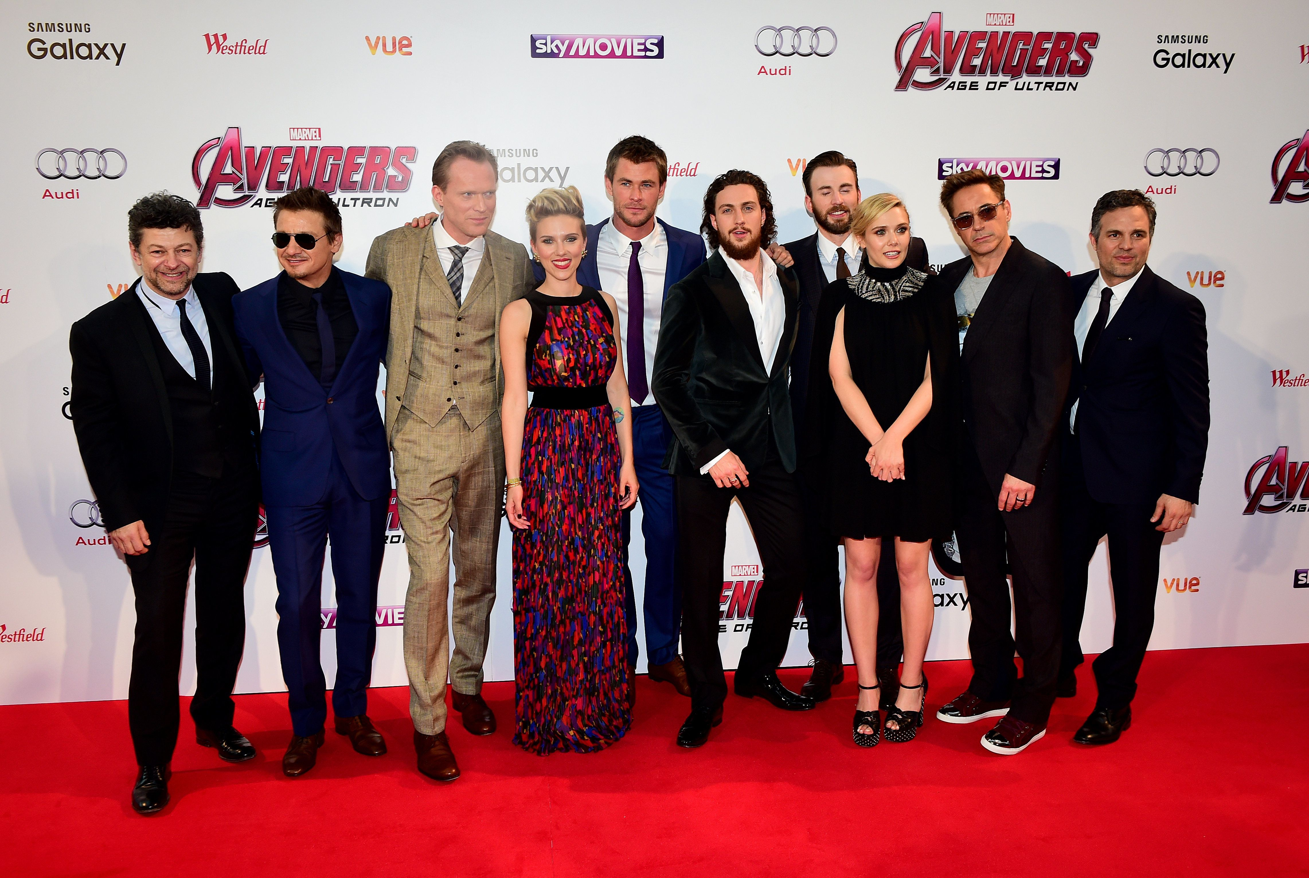 O Iron Man, η Black Widow, ο Captain America, ο Thor και ο Hawkeye έκαναν το ίδιο