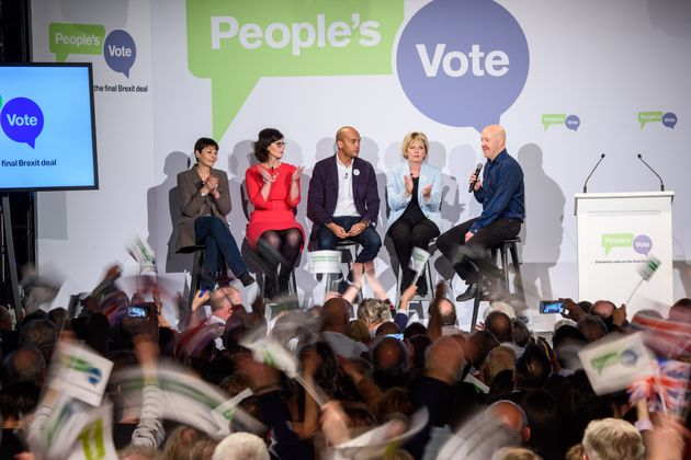 The launch of the People's Vote