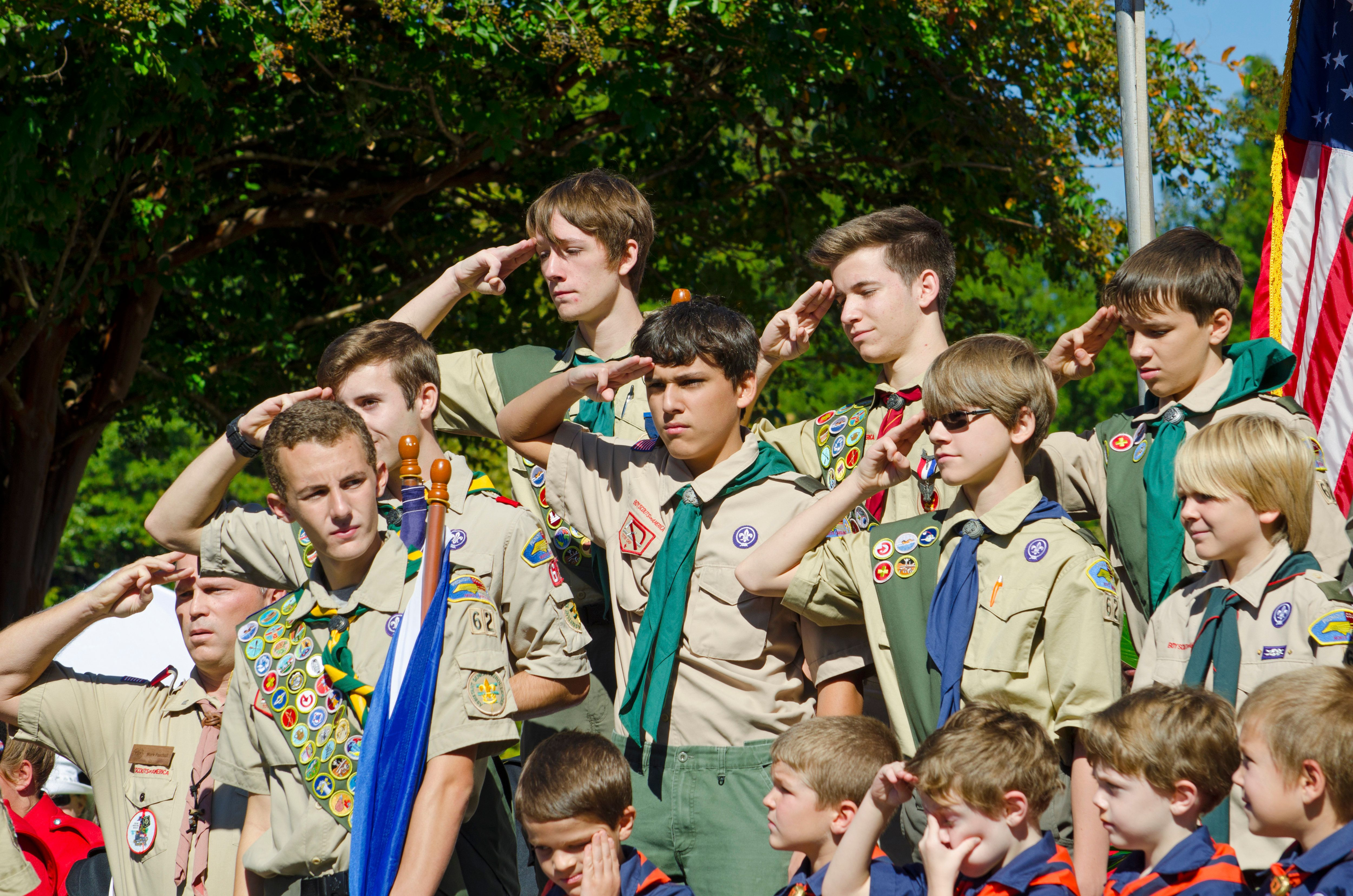 The Mormons broke with the boy scouts