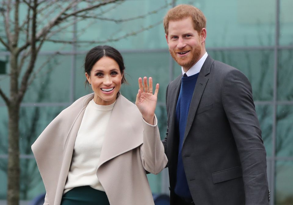 Harry and Meghan are expected to be dubbed the Duke and Duchess of Sussex on their wedding