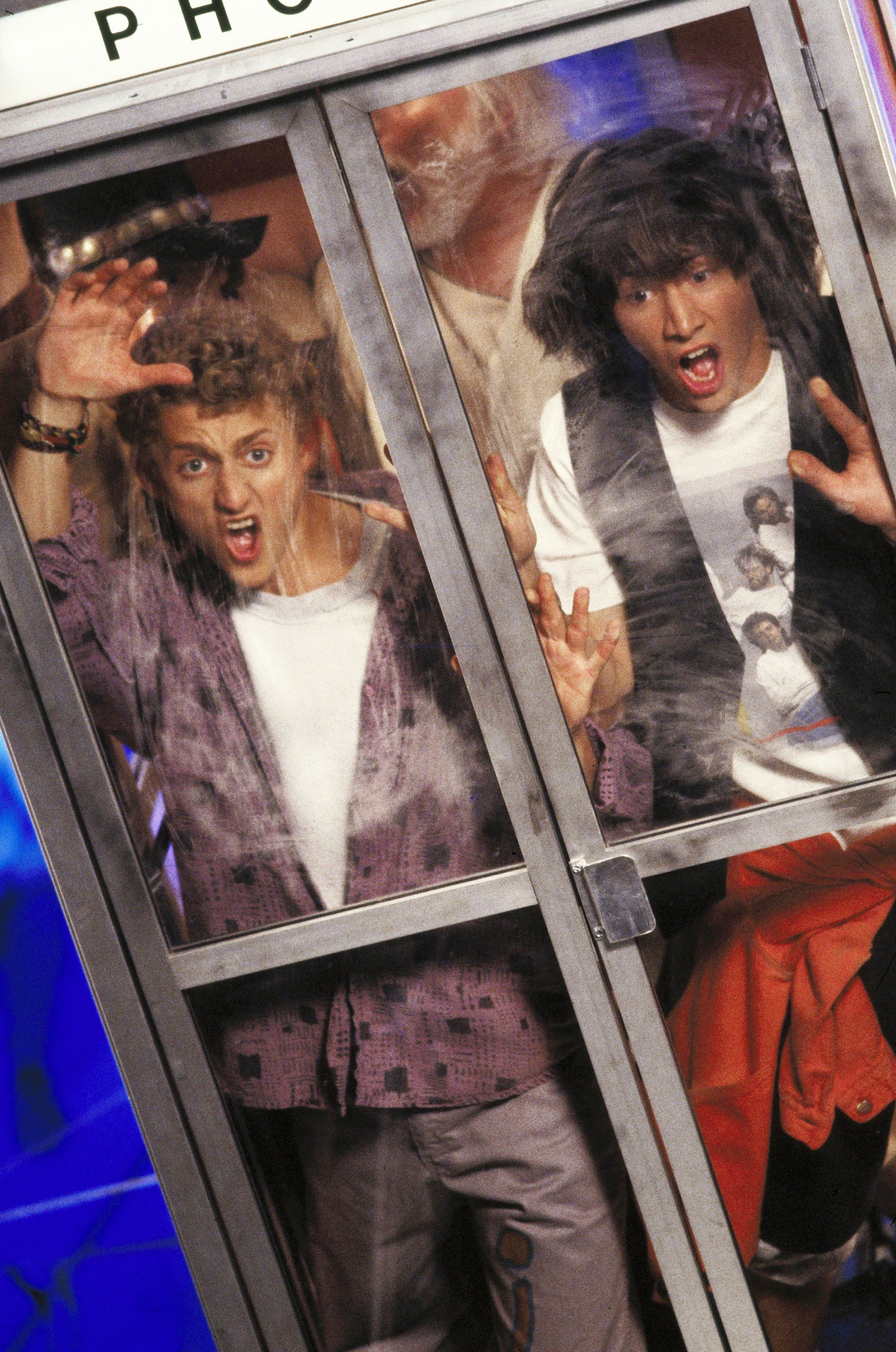 'Bill And Ted's Excellent Adventure' came out in 1989