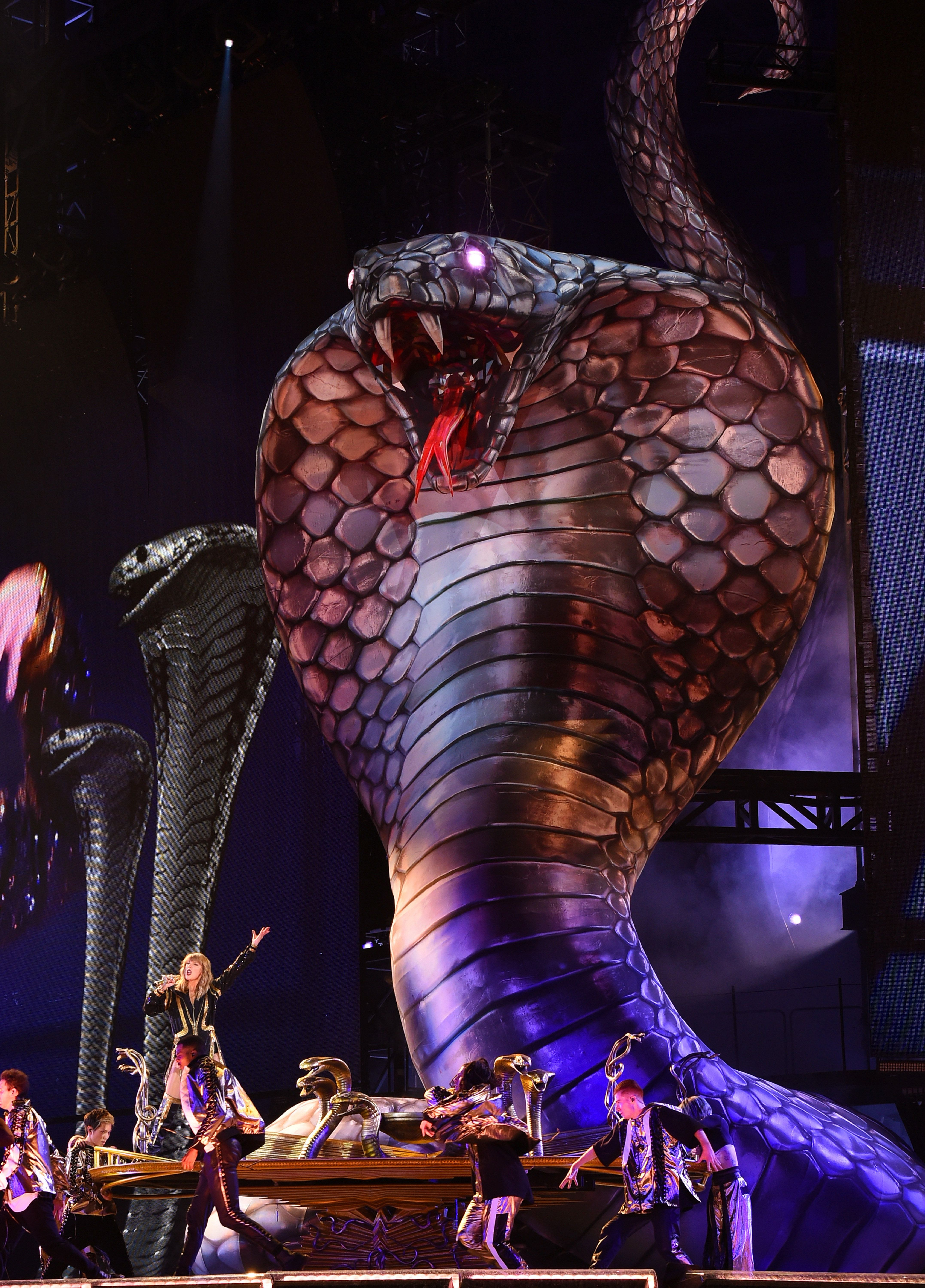 Taylor Swift Kicks Off 'Reputation' Stadium Tour With Snakes, Snakes And Even More