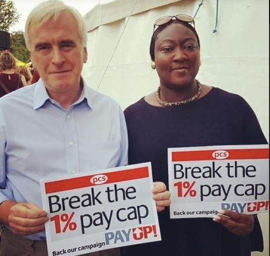 John McDonnell and Phyll