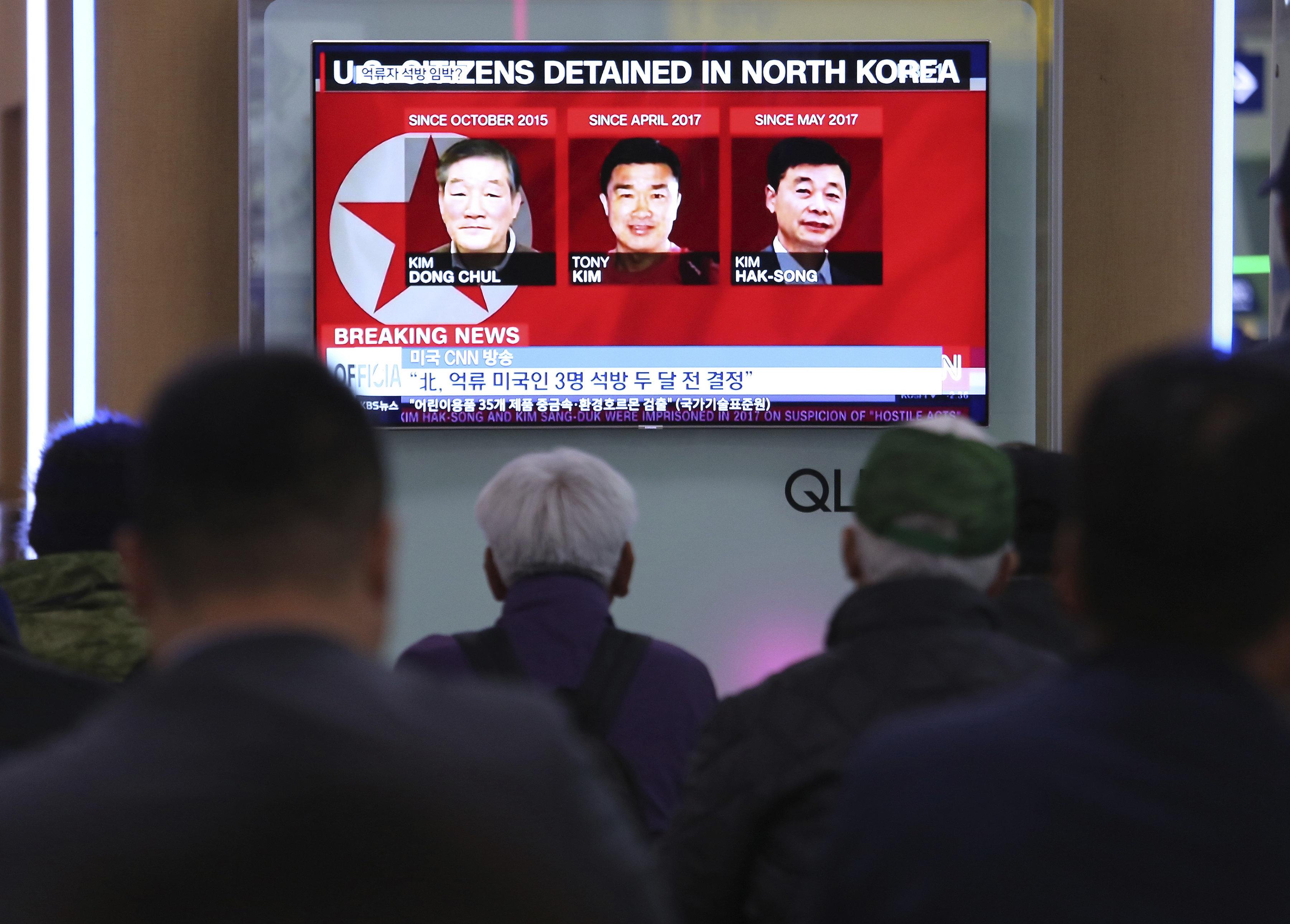 Nordkorea lässt drei inhaftierte US-Bürger frei
