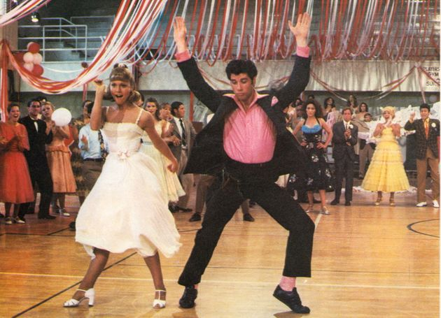 The famous school dance segment is one of the most iconic 'Grease'