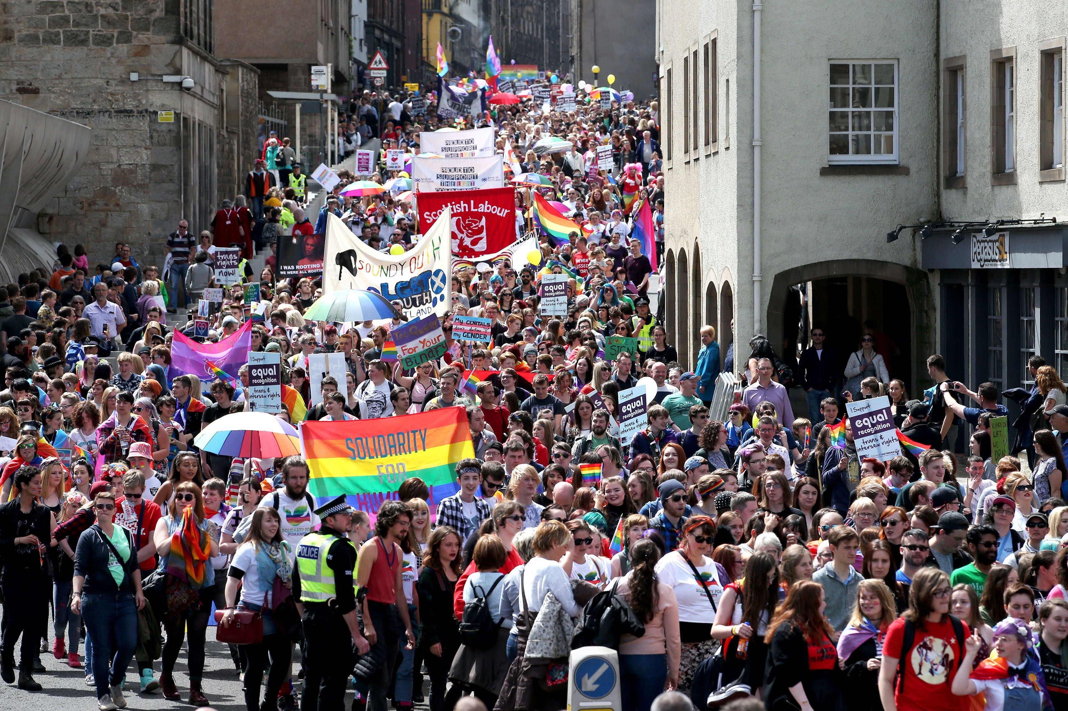 Outrage As Sheffield Pride Says Event Is A 'Celebration, Not Protest' And Bans Political