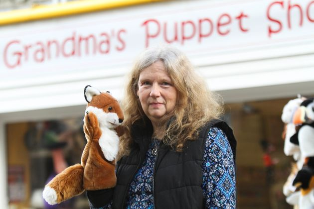 Nicola Smith's toy shop sold animal puppets and other toys from a shop just off Kendal high street.