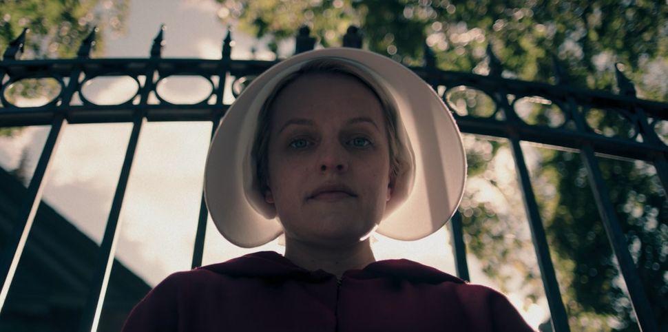 """Offred (Elisabeth Moss) is finally broken in season 2, episode 4 of """"The Handmaid's Tale."""""""