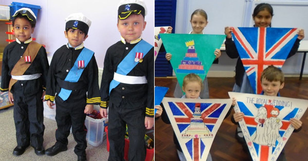 Windsor Children Are Marking The Royal Wedding With Processions Tea